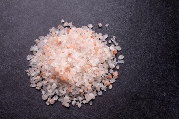 sal de roca gruesa en losa