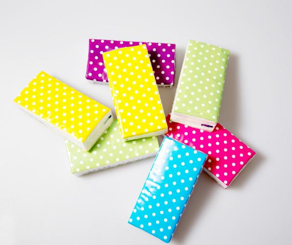 objetos salud colorido catarro puntos paquete