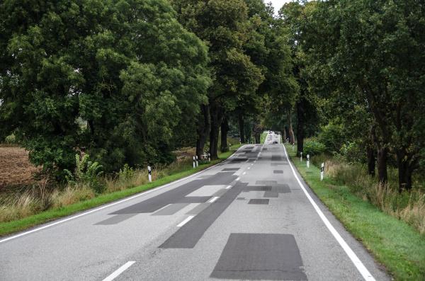 carretera terrestre en brandeburgo