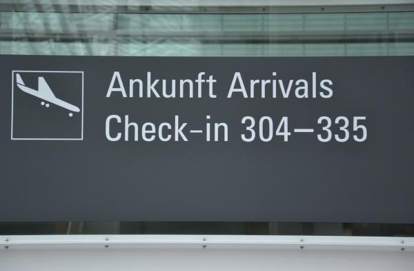 llegada al aeropuerto