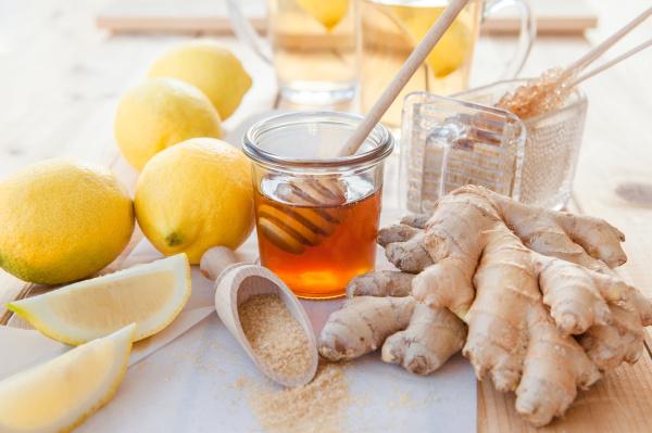 limones jengibre y miel