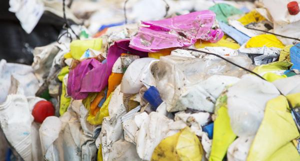 cierre de reciclaje comprimido