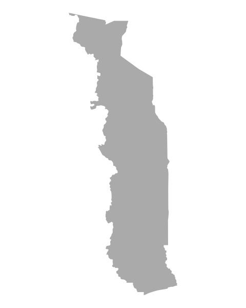 grafico ilustracion mapa togo geografia cartografia