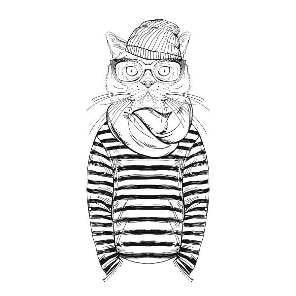 gato ninyo hipster