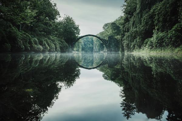 tranquilo rakotzbruecke devils bridge rakotzbruecke brandenburg