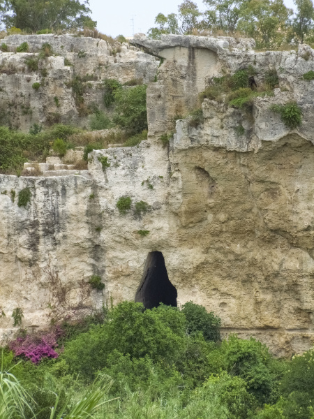 antigua siracusa en sicilia