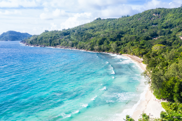 seychelles takamaka playa mahe isla paisaje