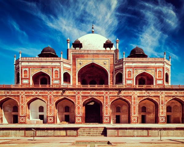 humayun's, tomb., delhi, , india - 28471609