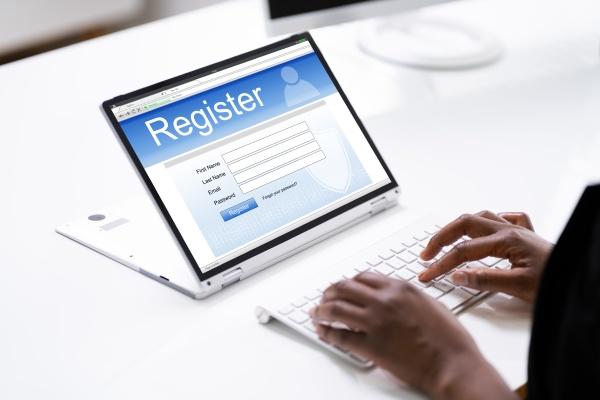formulario de registro web en linea