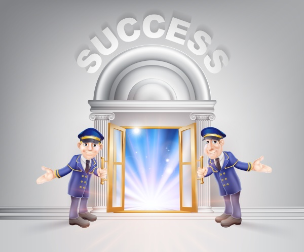 puerta al exito y porteros