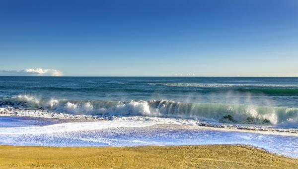paisaje de verano fondo de playa