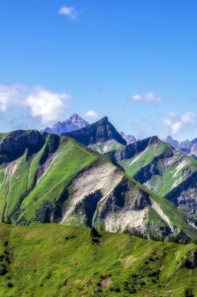 austria tirol vista panoramica de los