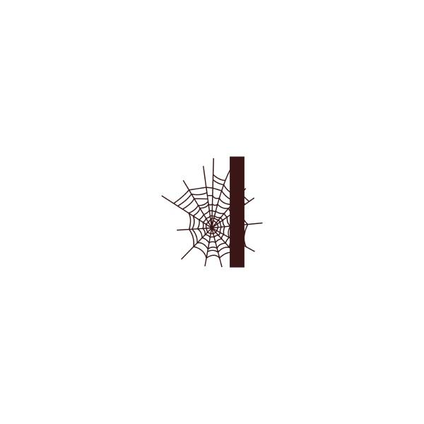 letra, i, con, vector, de, plantilla - 30459554