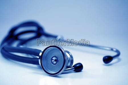azul stetoskop iv