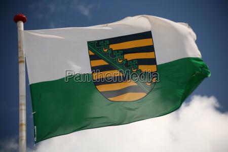 sajonia bandera
