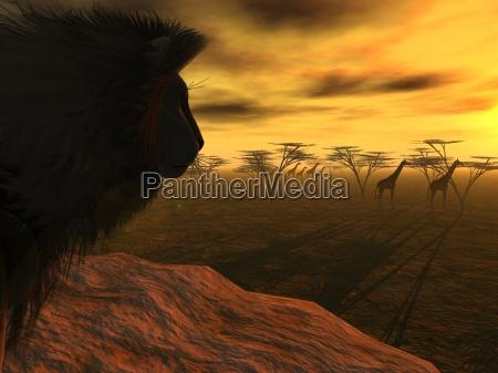 lions dinner