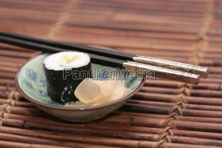 asia frio asiatico borroso sushi borrosidad