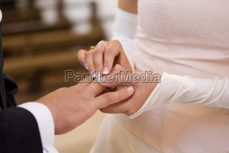 boda entrega del anillo