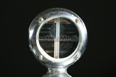 oldtimer kuehlerthermometer round