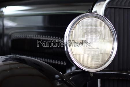 oldtimer headlight