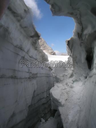 luz frio hielo glaciar alto cielo