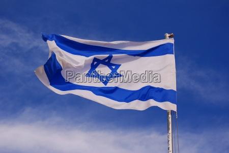 bandera, de, israel - 498022