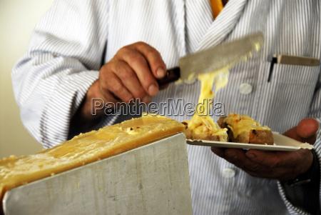 raclette suizo