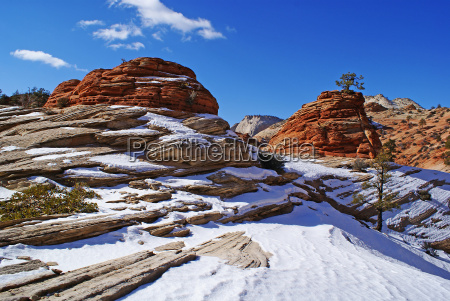 invierno en zion np