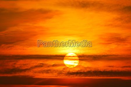 solnedgang stemning aften forar var gratis