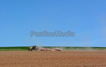 conducir polvo agricultura sequedad campos prados