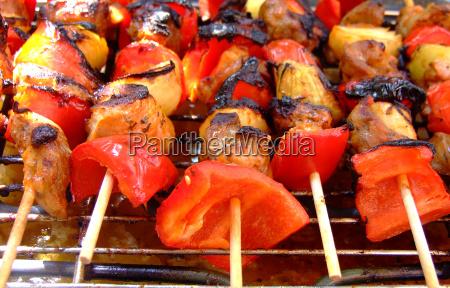 verano veraniego sabor cebolla paprika pimientos