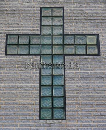 pensar cruz pared pared de la