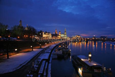 luz ciudad invierno luces frio tarde