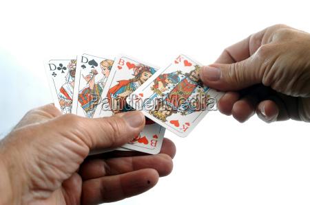 mostrar mano juego juega color dama