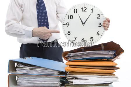 las horas de trabajo