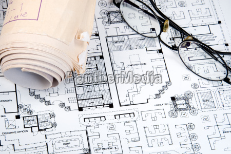 architects drawing and plans