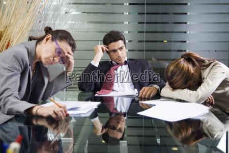 forretning team