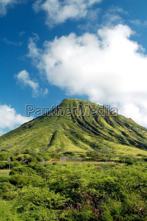 green, mountain, en, hawái - 1247633