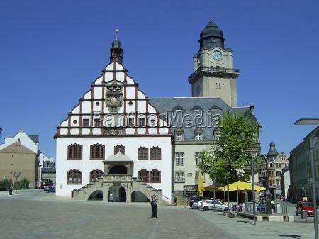 ayuntamiento sajonia mercado viejo edad mayor
