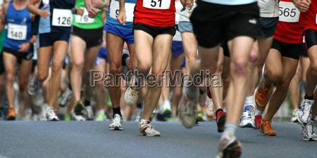 corriendo el deporte