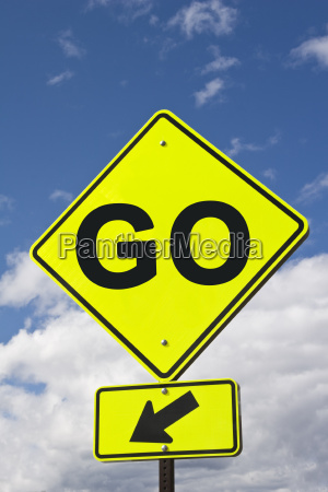 sign go