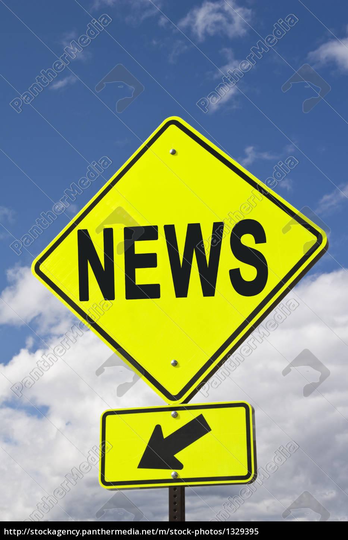 sign, news - 1329395