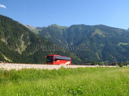 viaje vehiculo transporte autobus montanya camino
