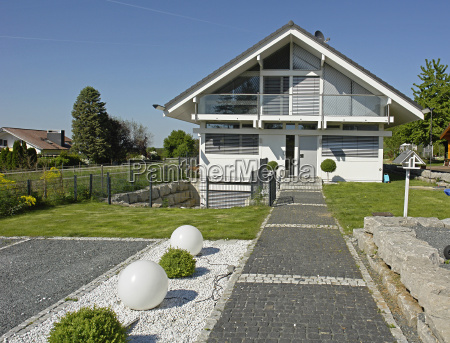 detached family house