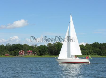 sailboat in maelaren