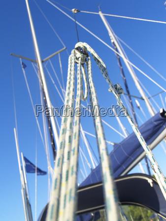 navegar yate navegacion velero polea tire