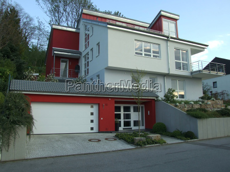 modern architect designed house