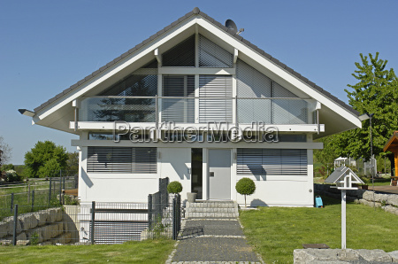 modern single family house