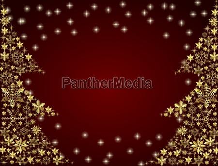 arboles de navidad de oro