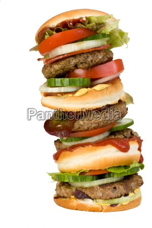alimento fast food rolo hamburger hamburguer